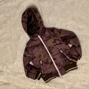 Oshkosh B'gosh Bubble Camo buy winter jacket so 6